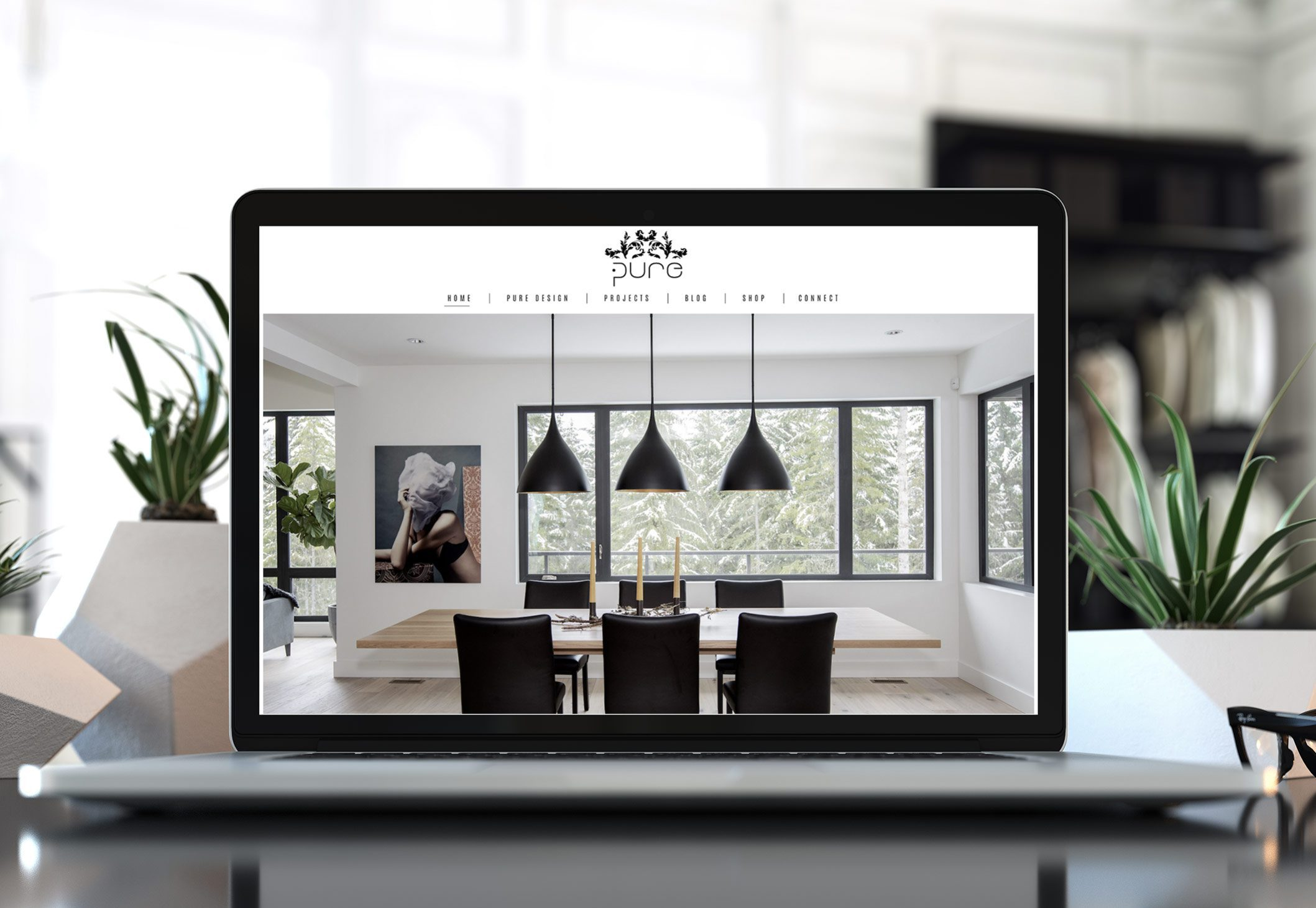 Ami mckay pure design new website oliver spence