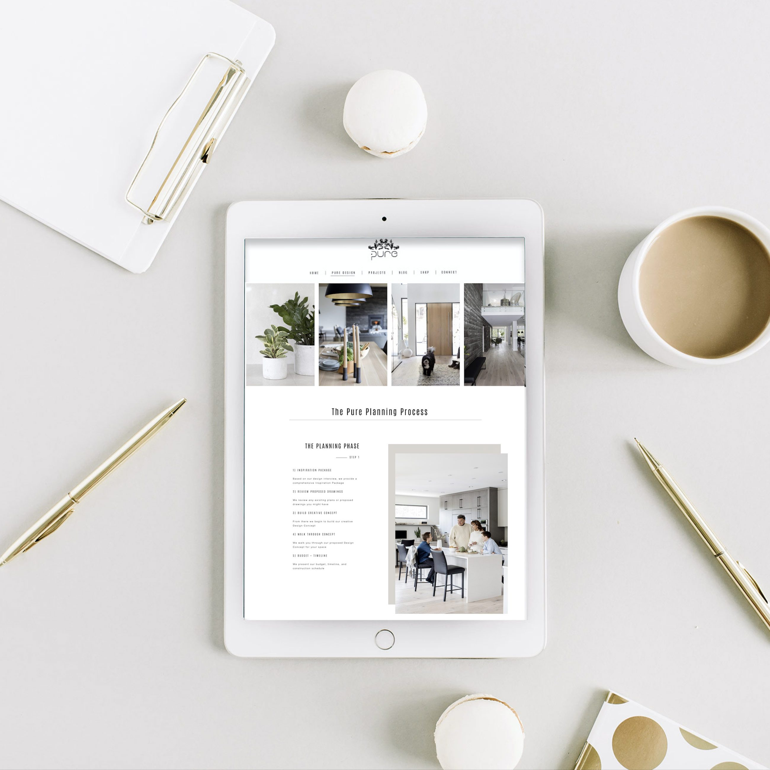 Ami-McKay-Pure-Interior-Design-Rebrands-Mobile-Website