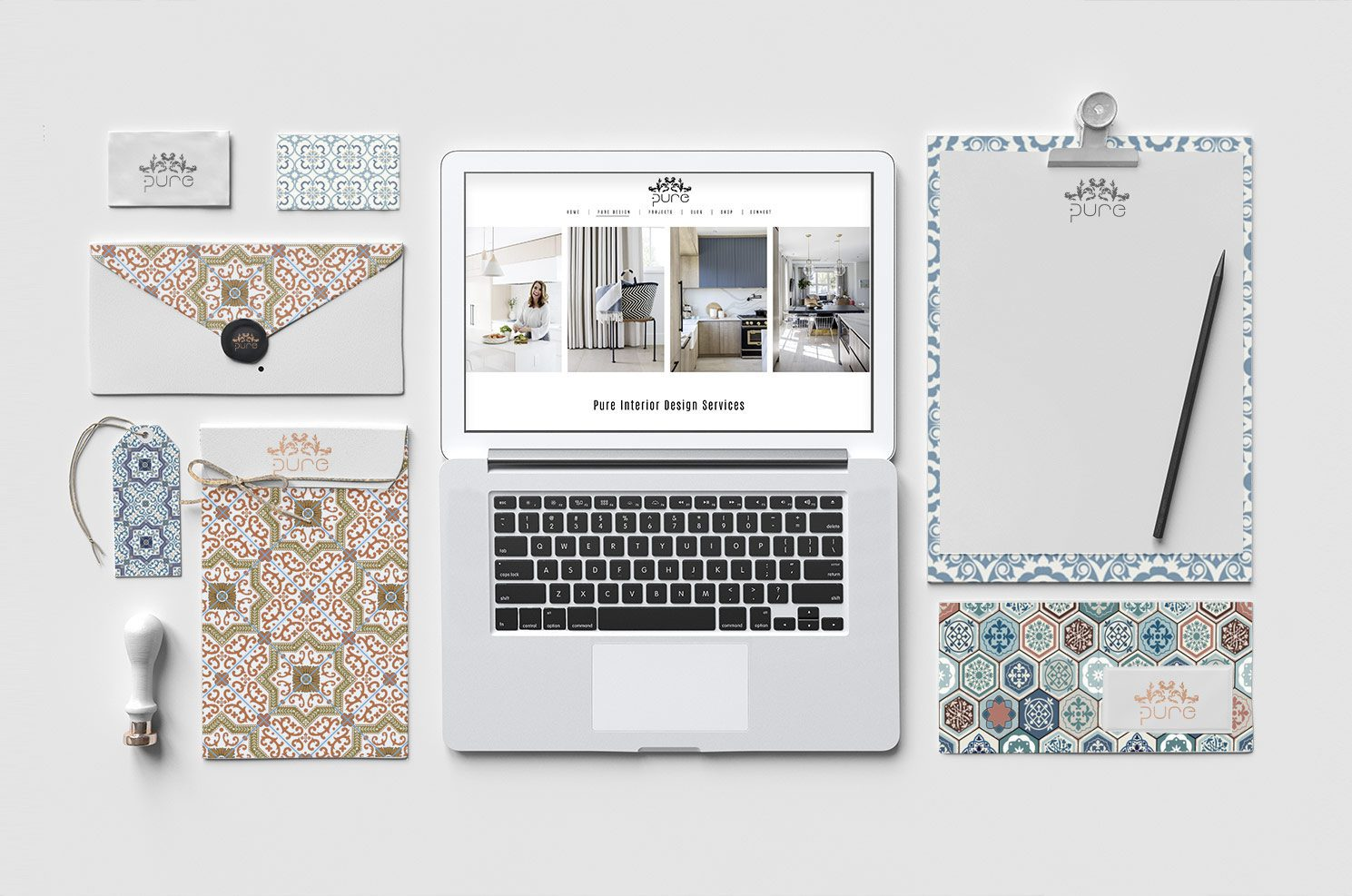 Ami-Mckay-Pure-Interior-Design-Rebrand-Social-Stationery-Set