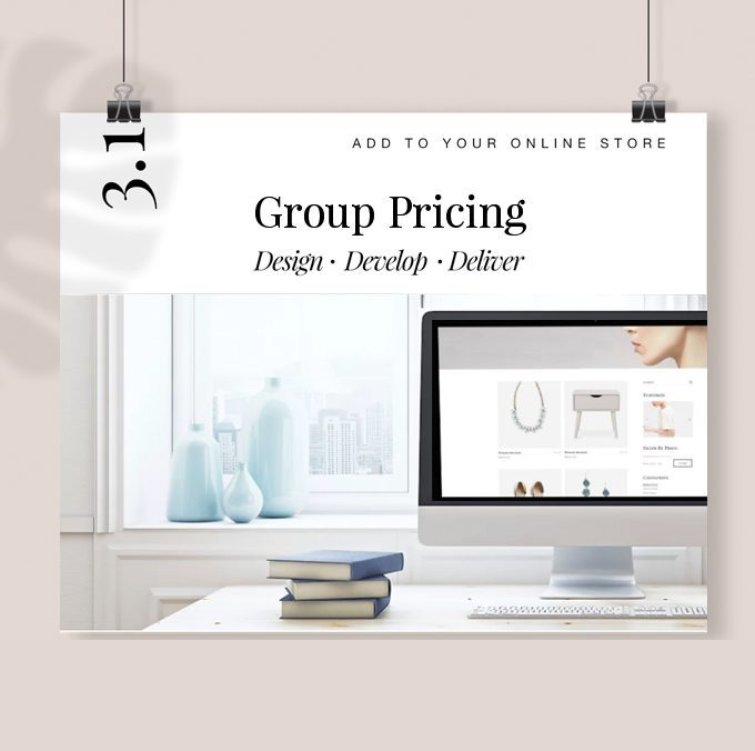 Add Group Pricing to Your Store