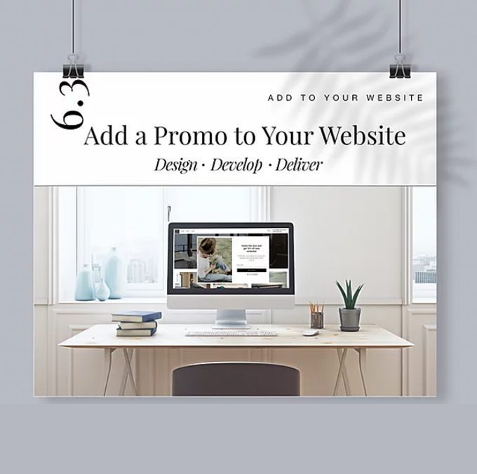 Add a Promotion to Your Website