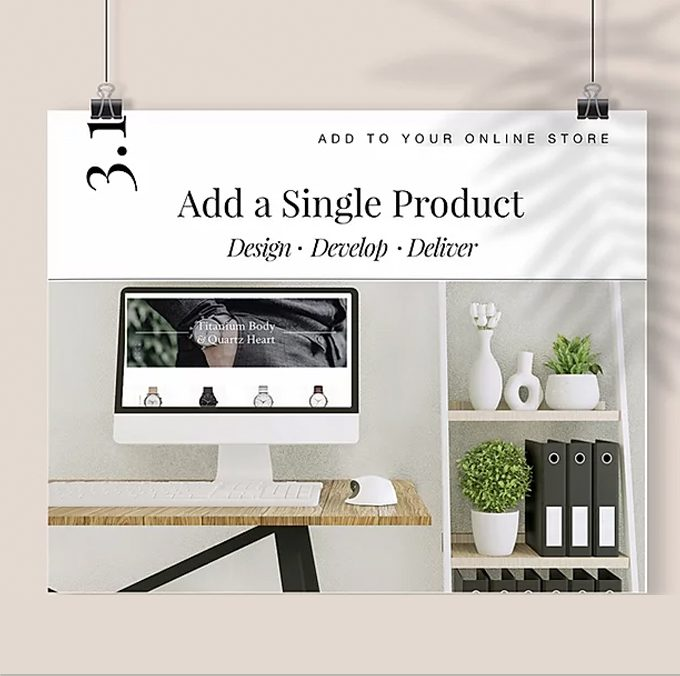Add a Single Product