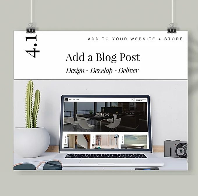 Add an extra blog post