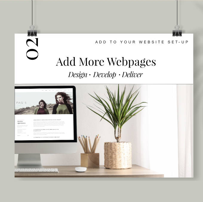 Design Webpages by Oliver Spence Creative