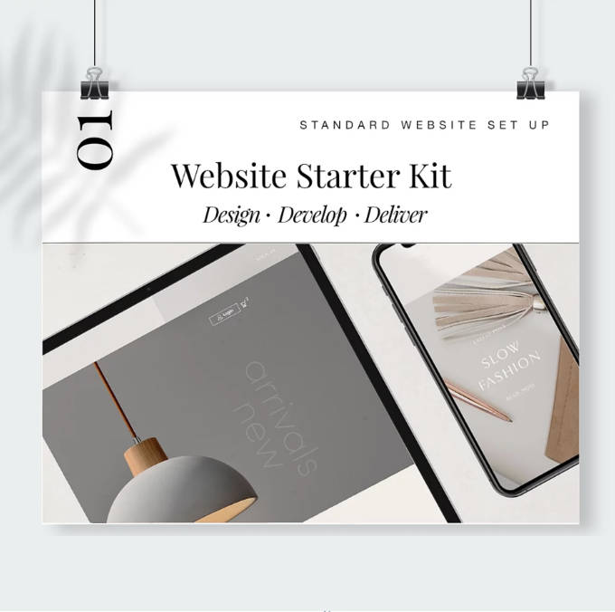 Website Starter Kit by Oliver Spence Creative